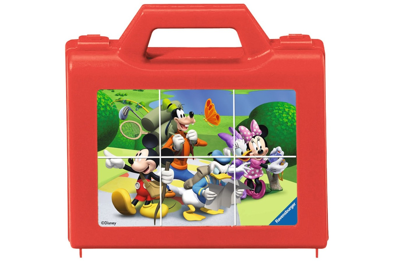 Puzzle Ravensburger - Clubul Mickey Mouse, 6 piese (07465)
