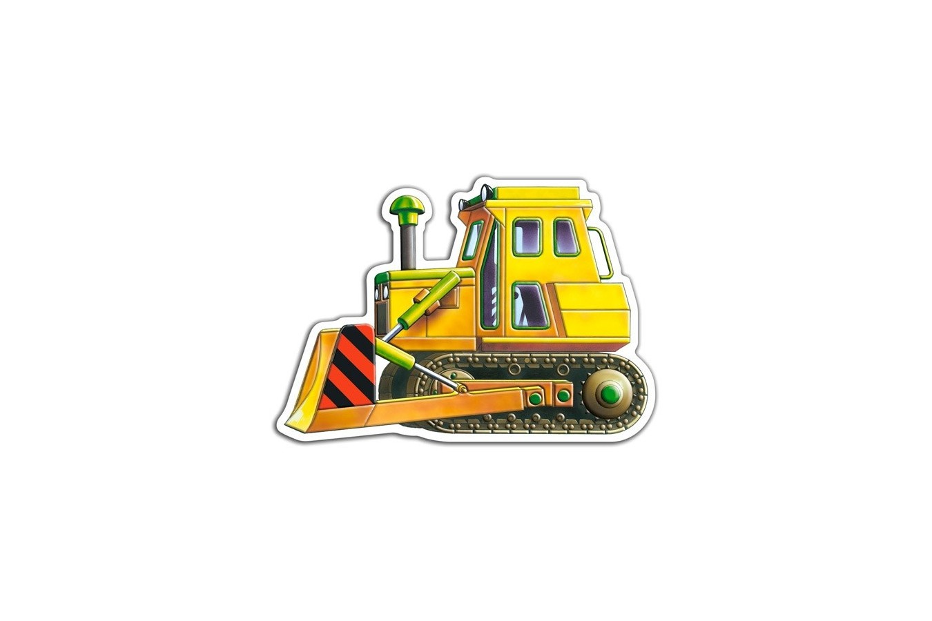 Puzzle Castorland 4 in 1 - Vehicles, 4/5/6/7 Piese