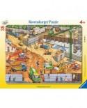 Puzzle Ravensburger - Constructii Pe Santier, 38 piese (06678)