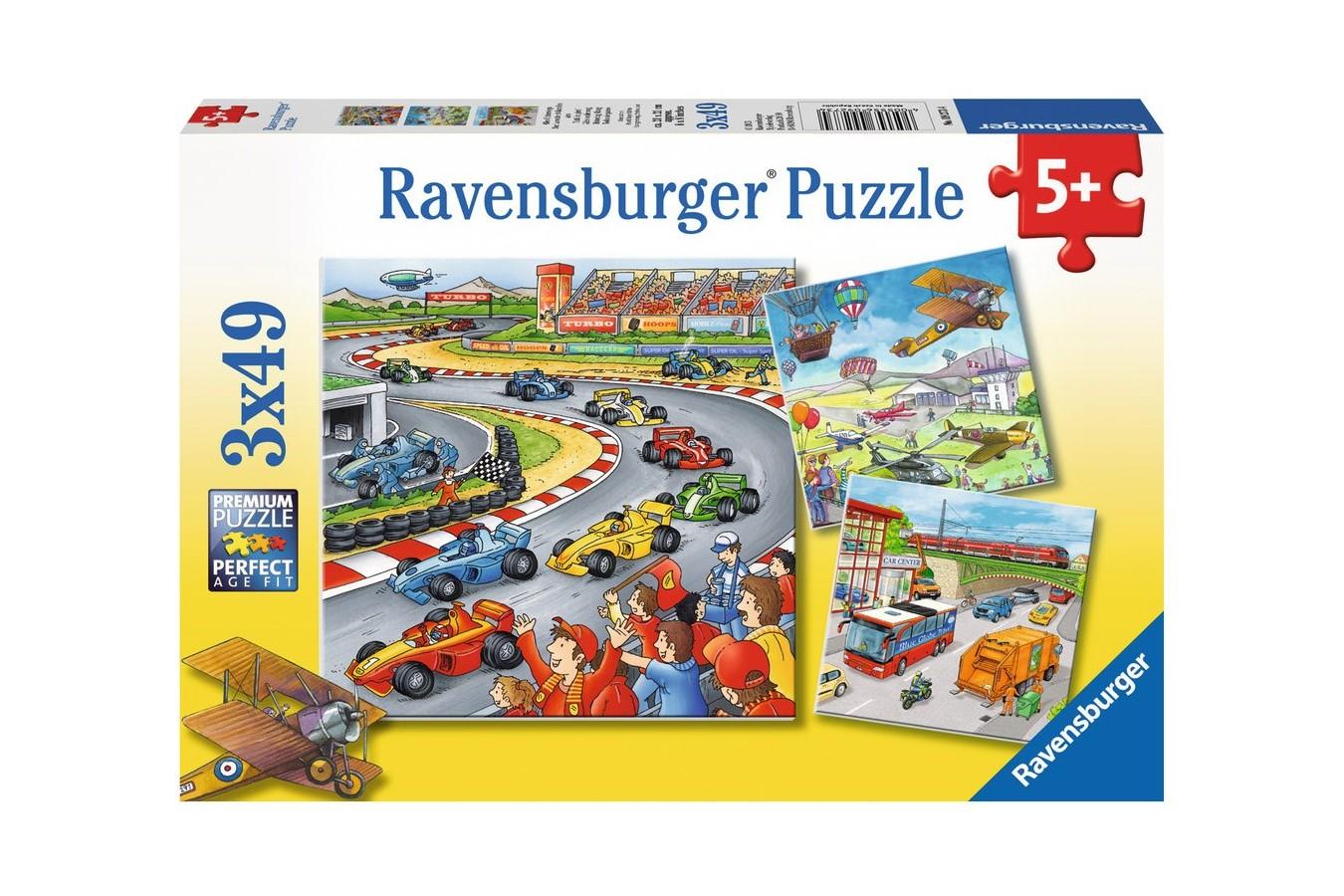Puzzle Ravensburger - Curse, 3x49 piese (09273)