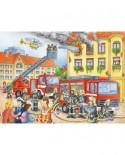 Puzzle Ravensburger - Departamentul Pompierilor, 100 piese (10822)