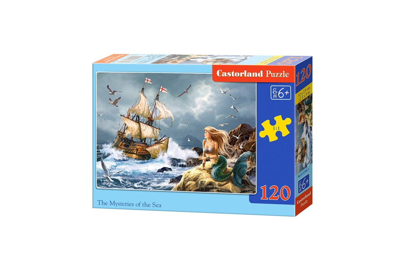 Puzzle Castorland - Misteries of the Sea, 120 piese