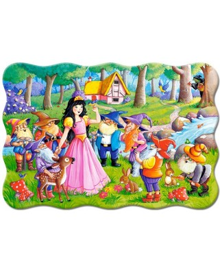 Puzzle Castorland - Snow White and the Seven Dwarfs, 20 piese MAXI