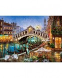 Puzzle Castorland - Grand canal bistro, 2000 piese