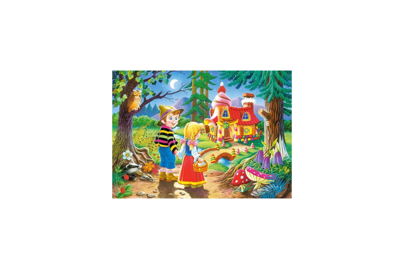 Puzzle Castorland - Hansel si Gretel, 60 piese