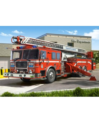 Puzzle Castorland - Fire Engine, 260 piese