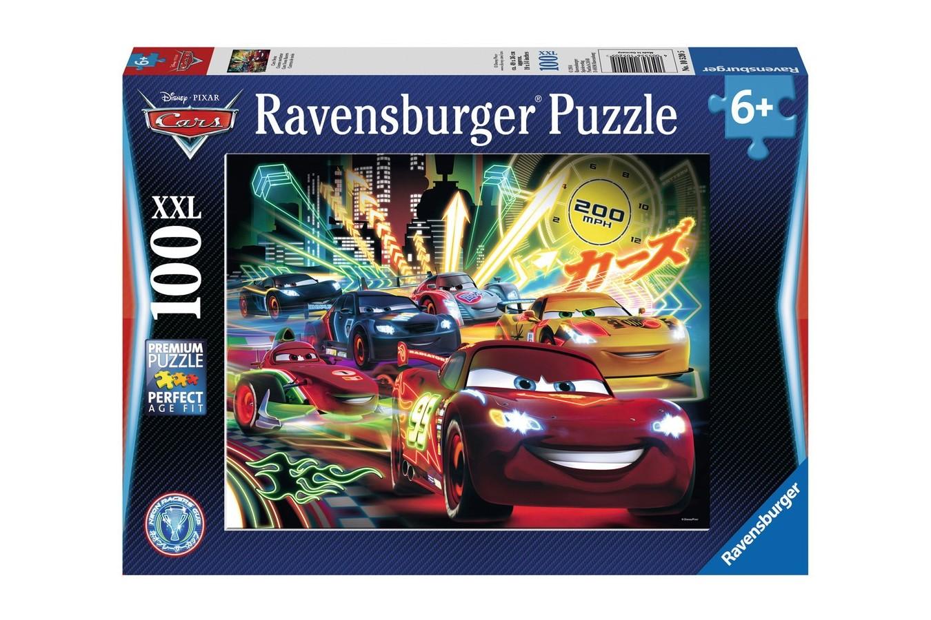Puzzle Ravensburger - Disney Cars, 100 piese (10520)