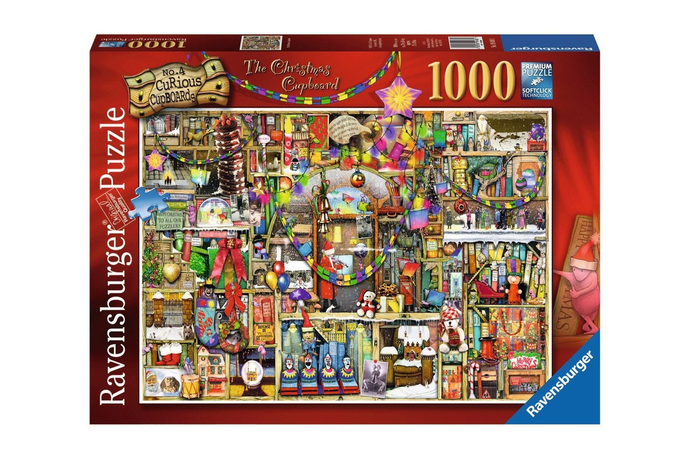 Puzzle Ravensburger - Craciun - Colin Thompson, 1000 piese (19468)