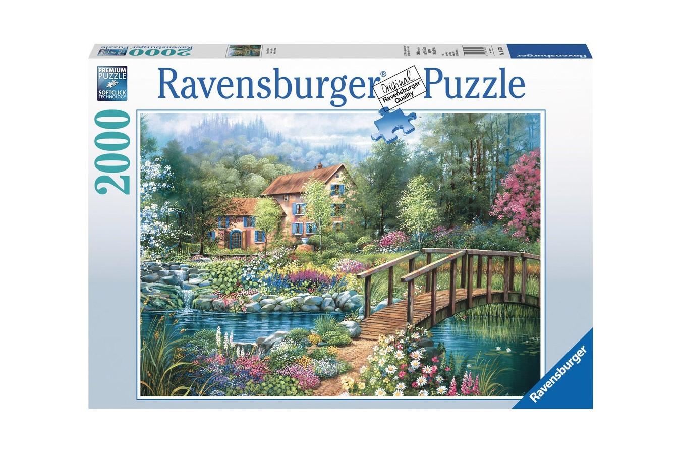 Puzzle Ravensburger - Nuante De Vara, 2000 piese (16637)