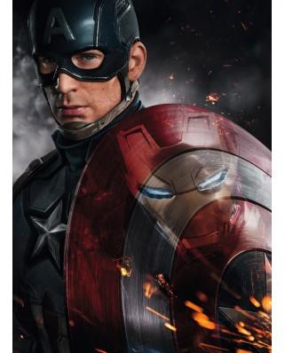 Puzzle Ravensburger - Capitanul America, 150 piese (10034)