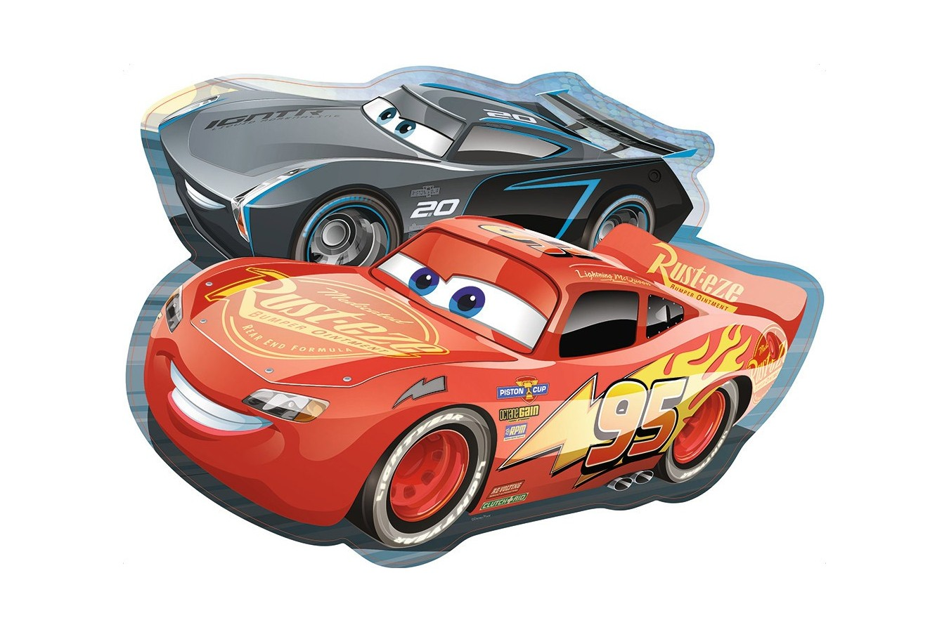 Puzzle Ravensburger - Cars, 24 piese (05454)