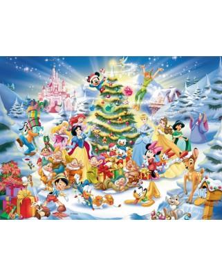 Puzzle Ravensburger - Craciunul In Familia Disney, 100 piese (10545)