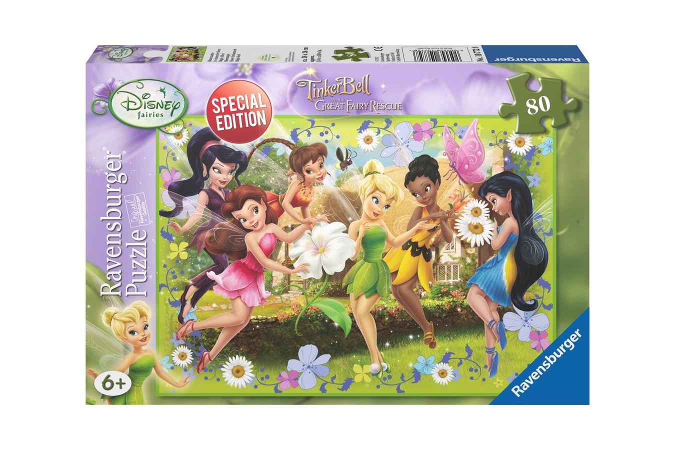 Puzzle Ravensburger - Disney Clopotica, 80 piese (10772)