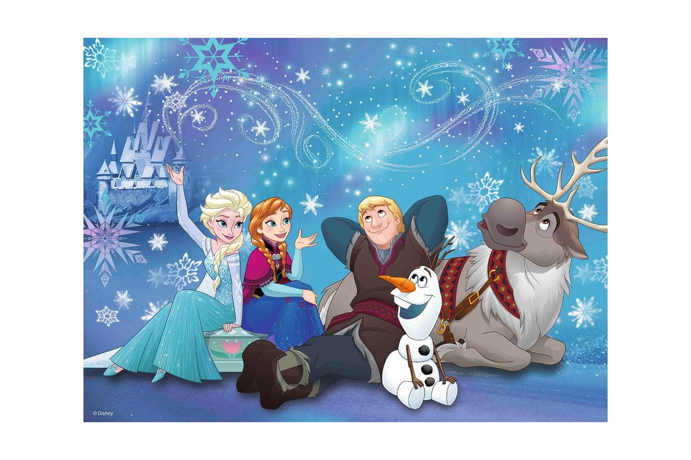 Puzzle Ravensburger - Frozen, 100 piese (10911)