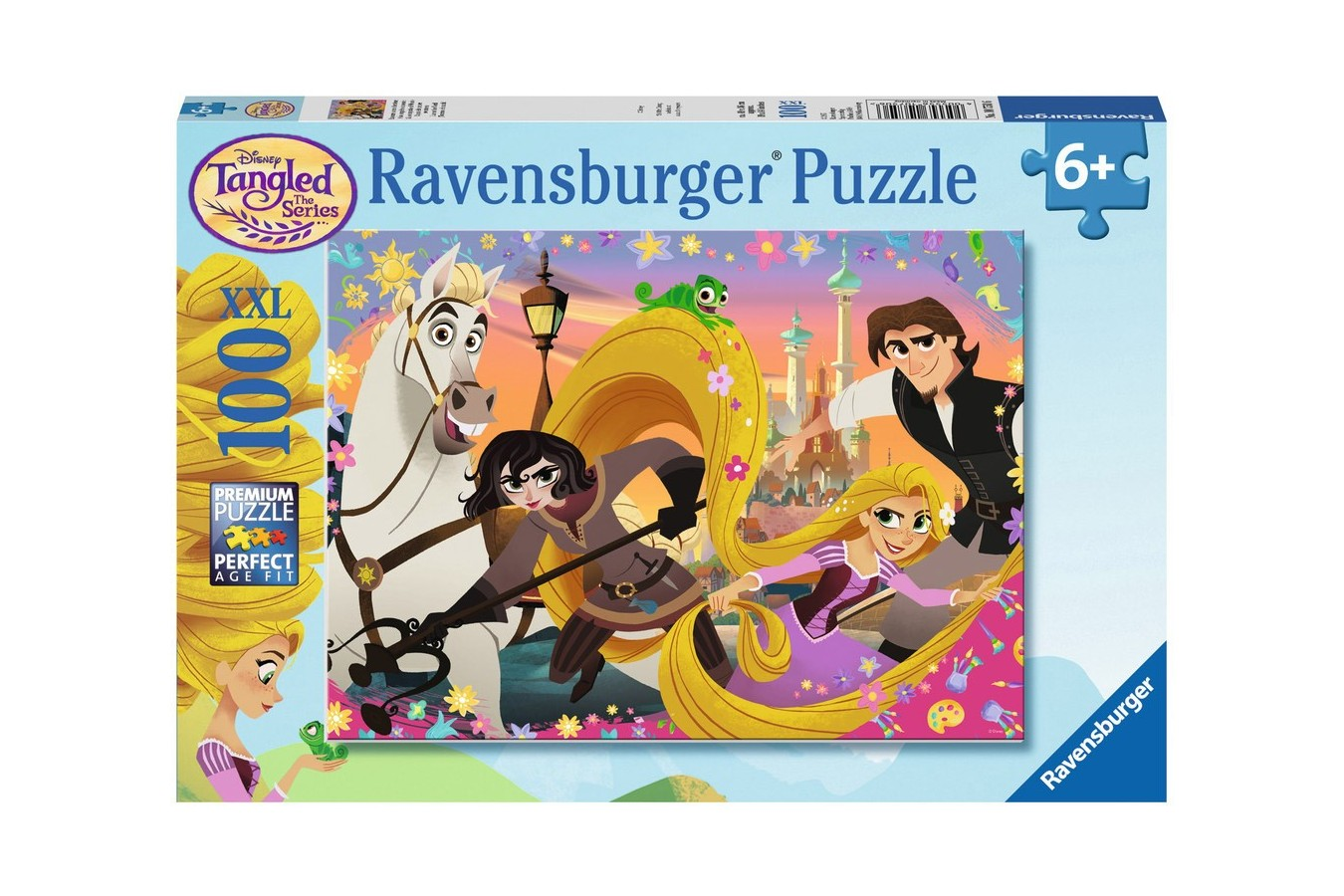 Puzzle Ravensburger - Rapunzel, 100 piese (10750)