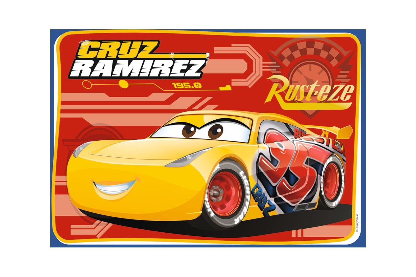 Puzzle Ravensburger - Cars, 2x12 piese (07614)