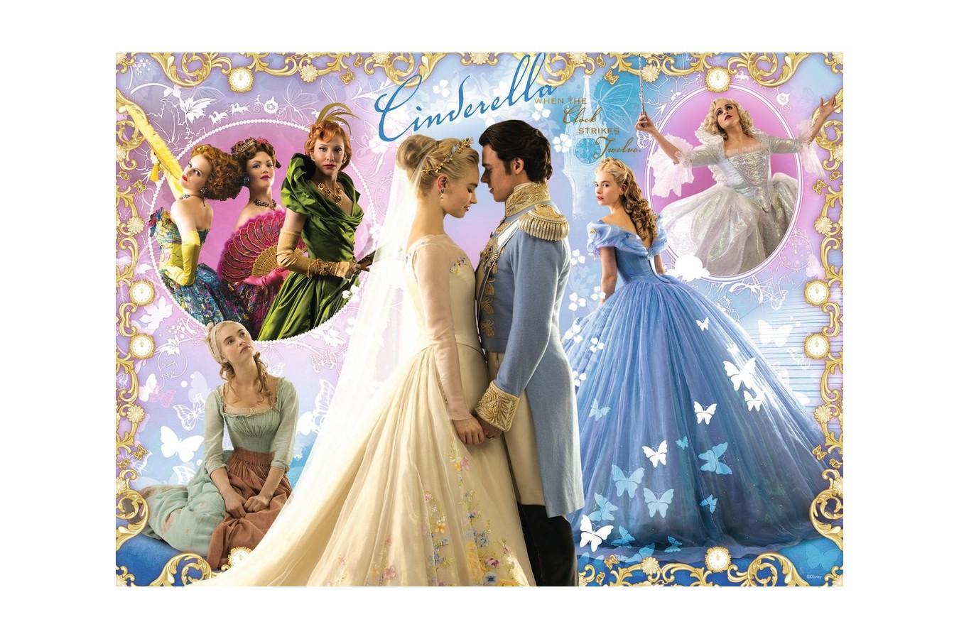 Puzzle Ravensburger - Disney Filmul Cenusareasa, 100 piese (10566)