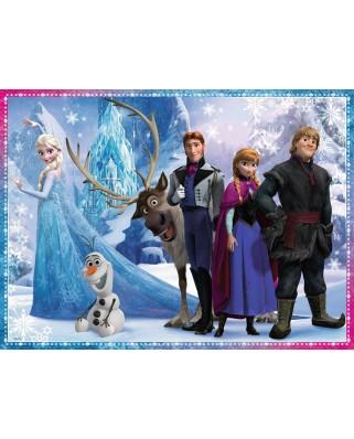 Puzzle Ravensburger - Disney Frozen, 100 piese (10571)