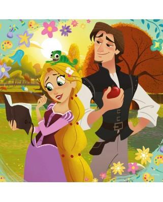 Puzzle Ravensburger - Rapunzel, 3x49 piese (08024)