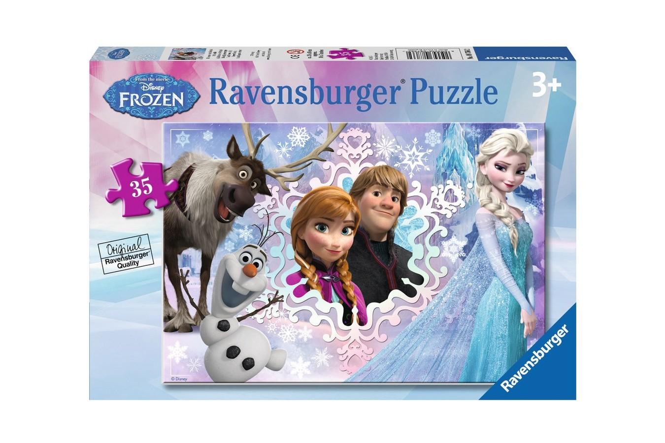 Puzzle Ravensburger - Disney Frozen, 35 piese (08766)