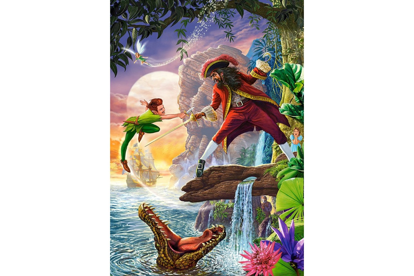 Puzzle Castorland - Peter Pan, 500 piese