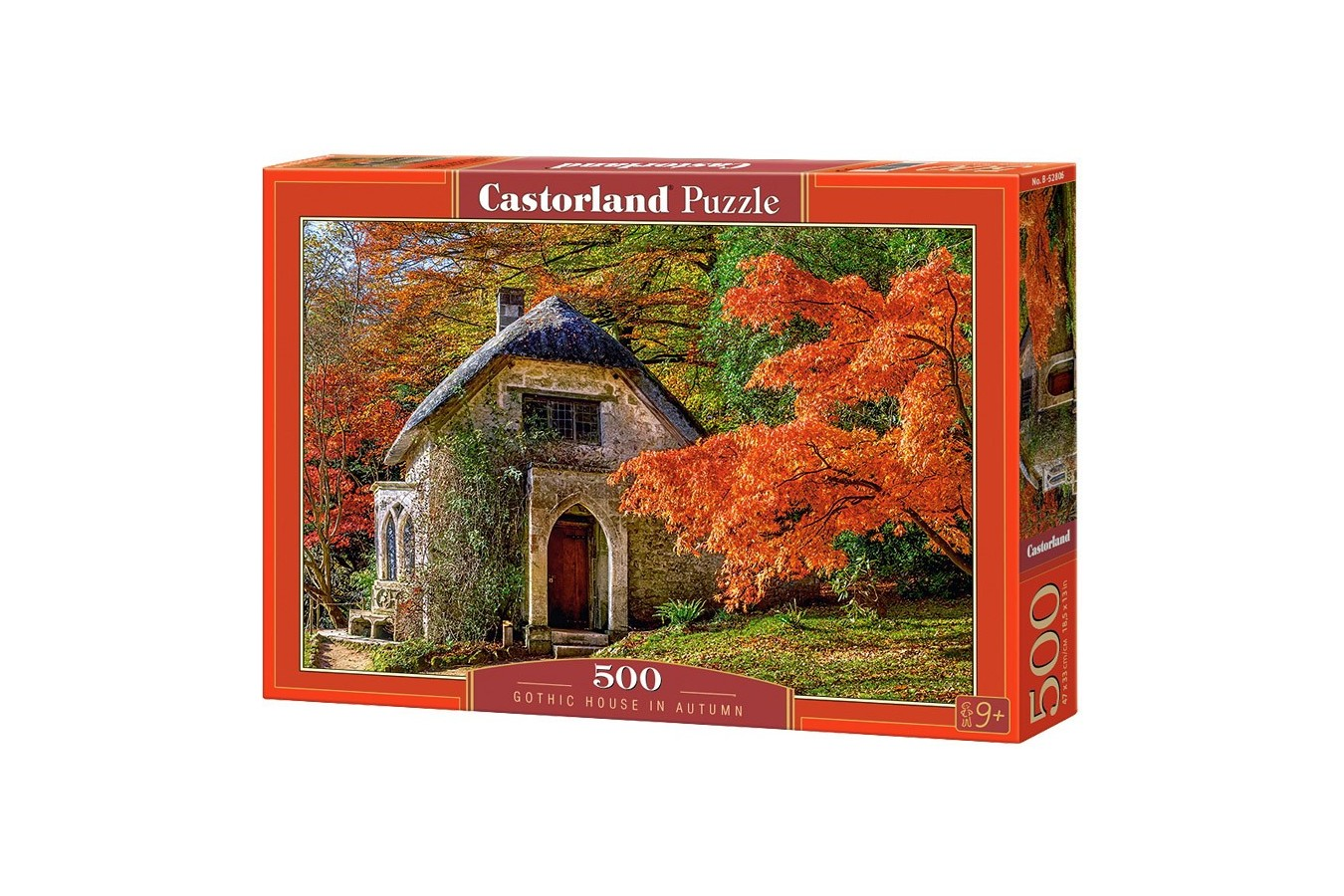 Puzzle Castorland - Gothic House in Autumn, 500 piese