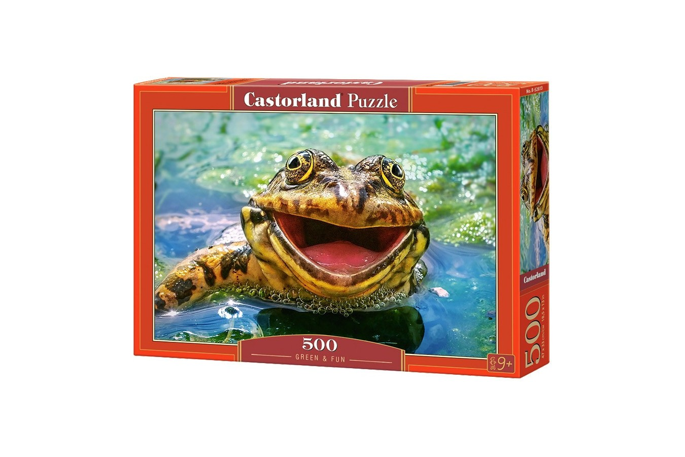 Puzzle Castorland - Green and Fun, 500 piese