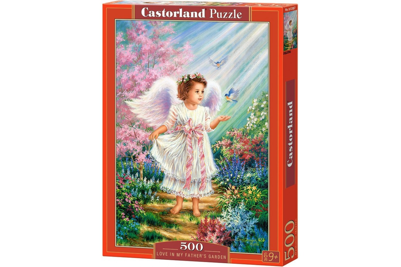 Puzzle Castorland - Love in my fathers garden, 500 piese