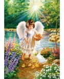 Puzzle Castorland - An angels warmth, 500 piese