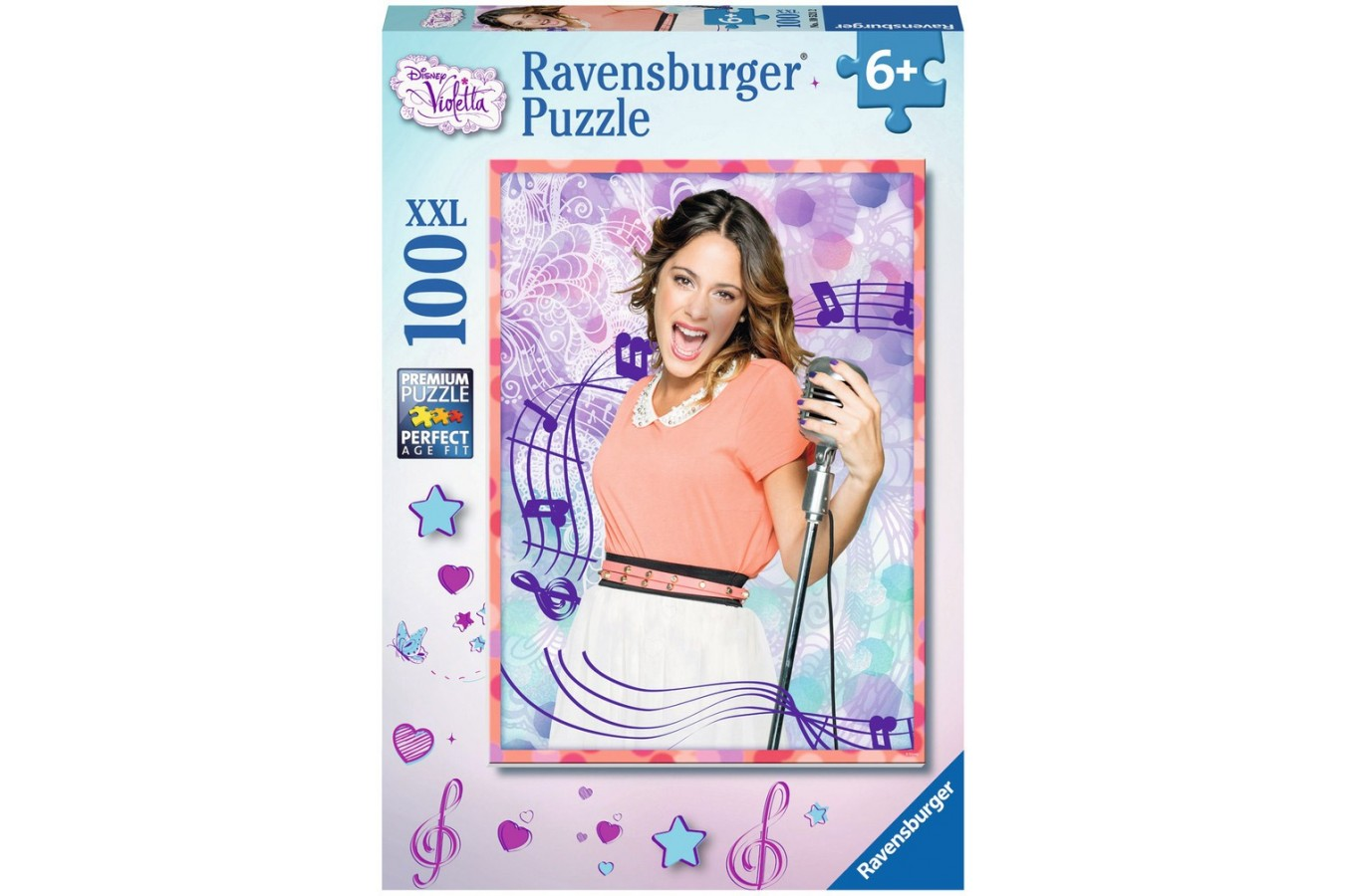 Puzzle Ravensburger - Disney Violetta, 100 piese (10521)