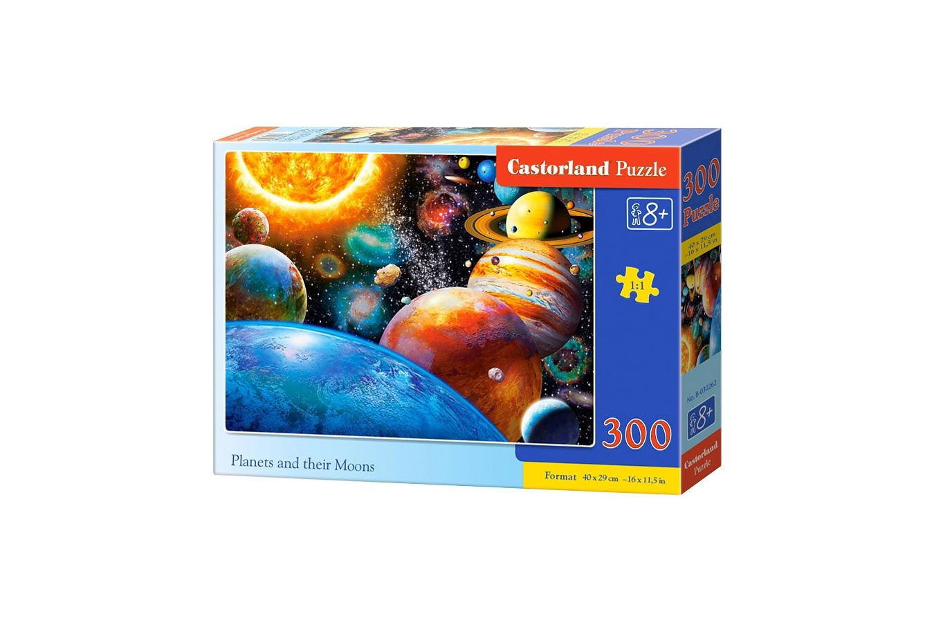Puzzle Castorland - Planets and their Moons, 300 piese