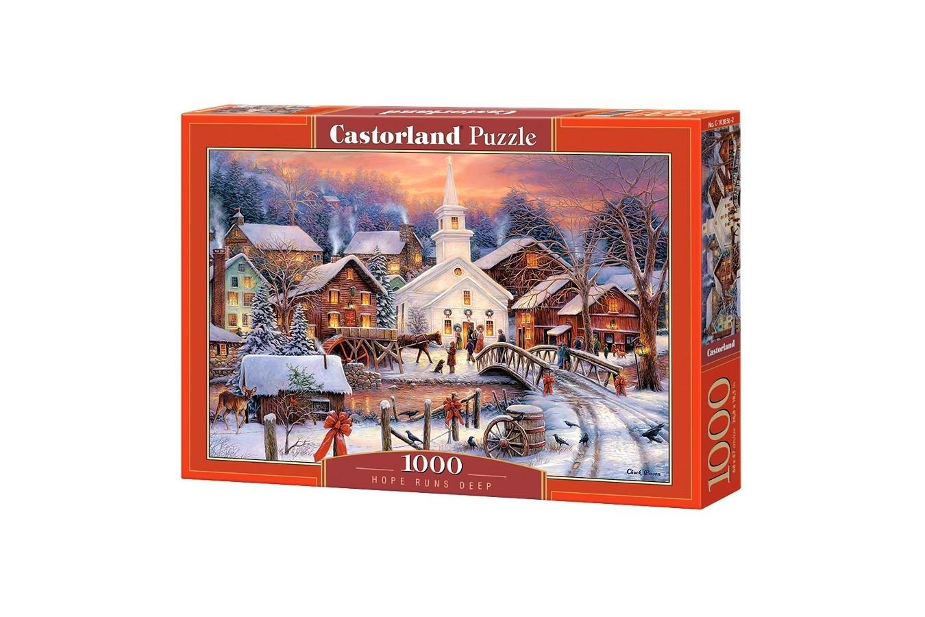 Puzzle Castorland - Hope Runs Deep, 1000 piese