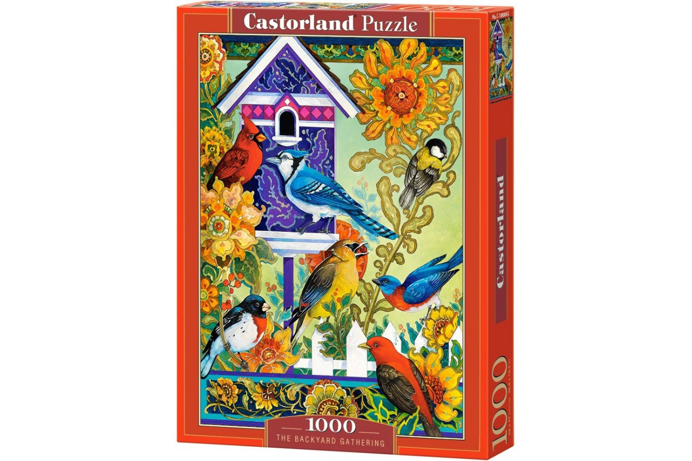 Puzzle Castorland - The Backyard Gathering, 1000 piese