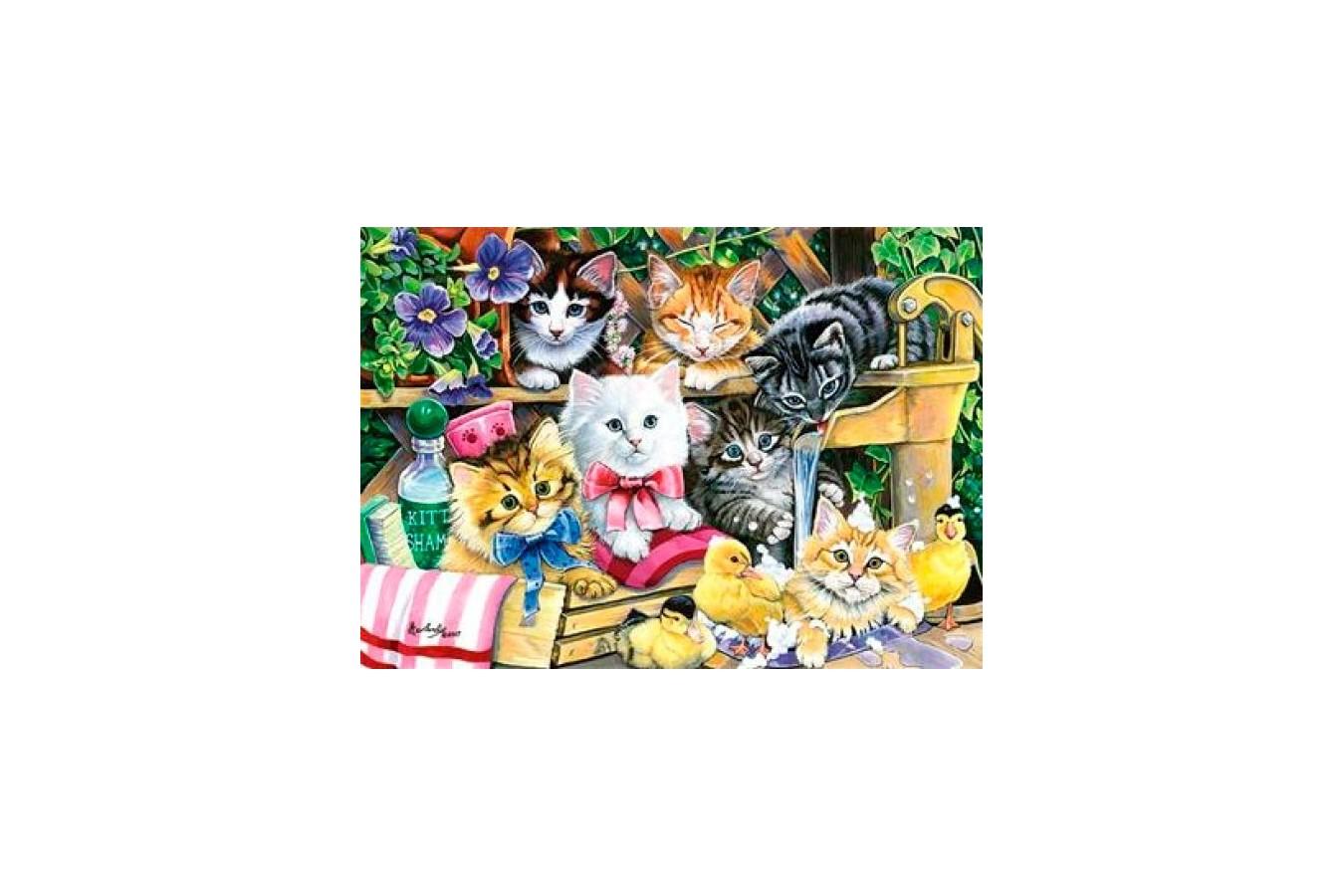 Puzzle Anatolian - Bathtime Kittens, 260 piese (3282)
