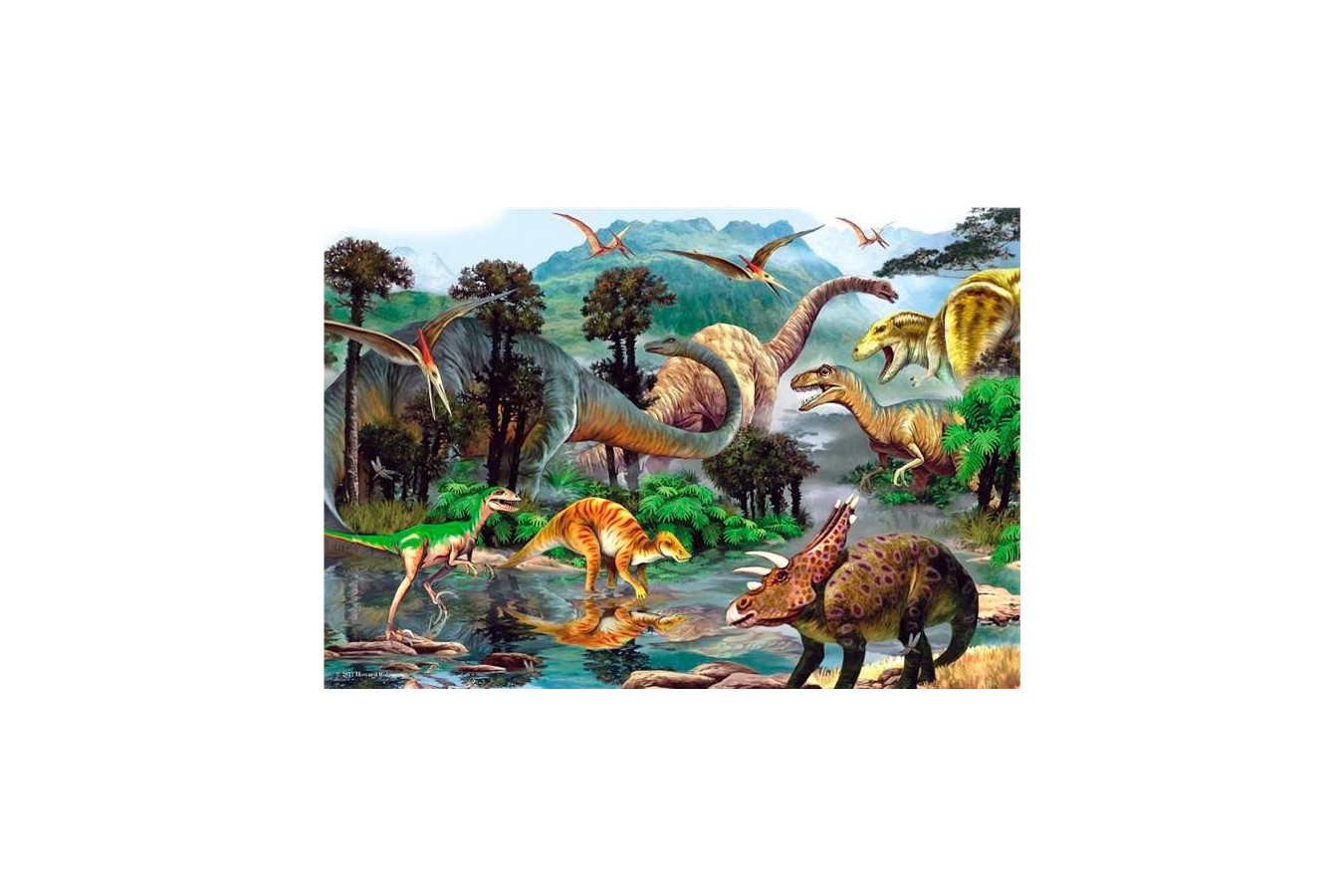 Puzzle Anatolian - Dino Valley II, 260 piese (3288)