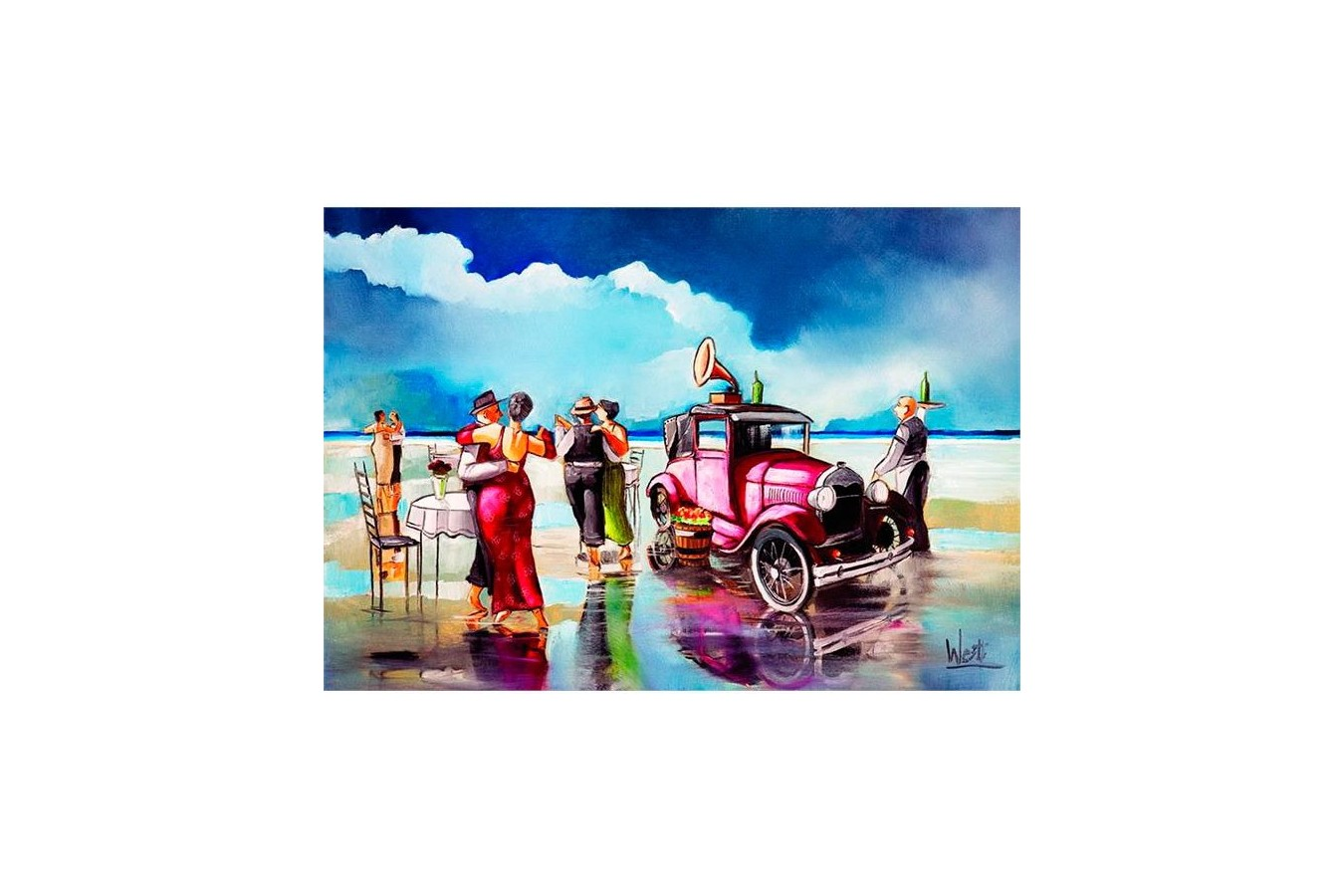 Puzzle Anatolian - Dancing on the Beach, 260 piese (3295)