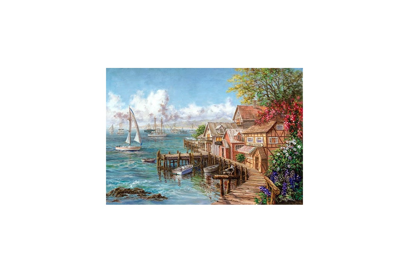 Puzzle Anatolian - Mariner's Haven, 260 piese (3300)