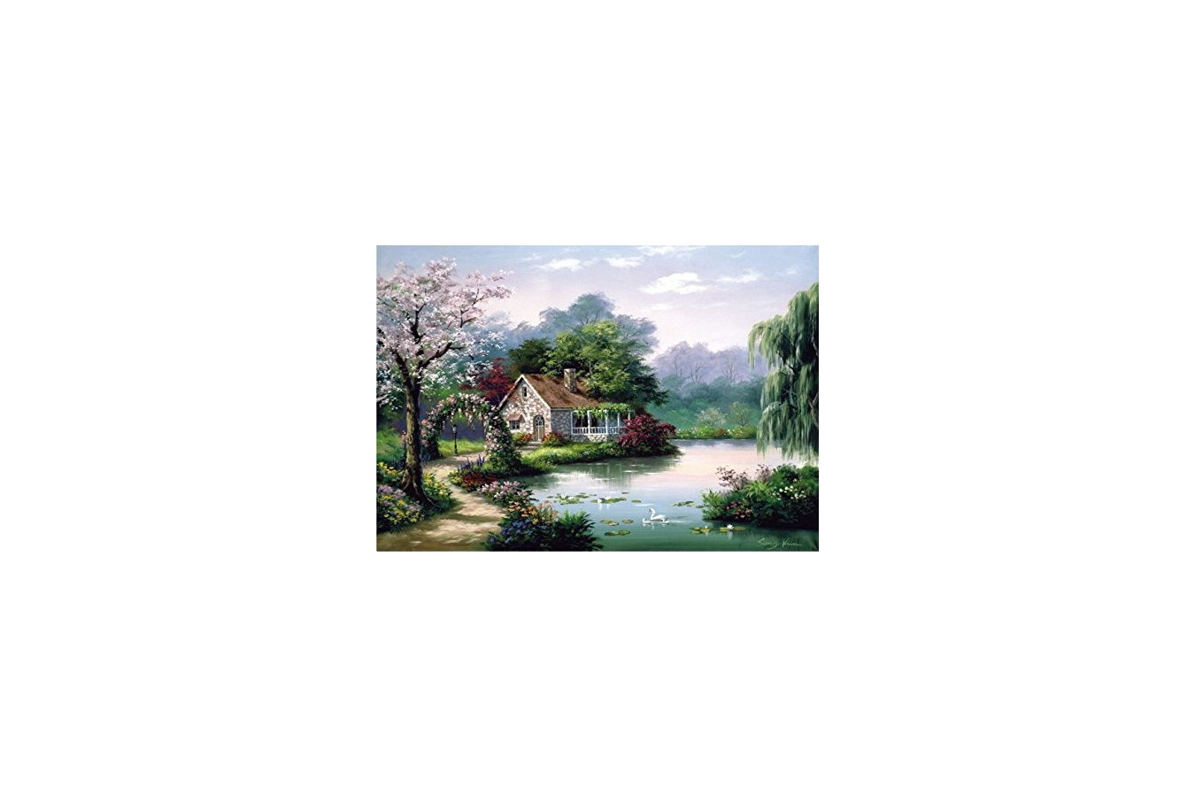 Puzzle Anatolian - Arbor Cottage, 260 piese (3304)