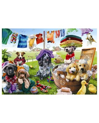 Puzzle Anatolian - Puppies Playing, 260 piese (3313)