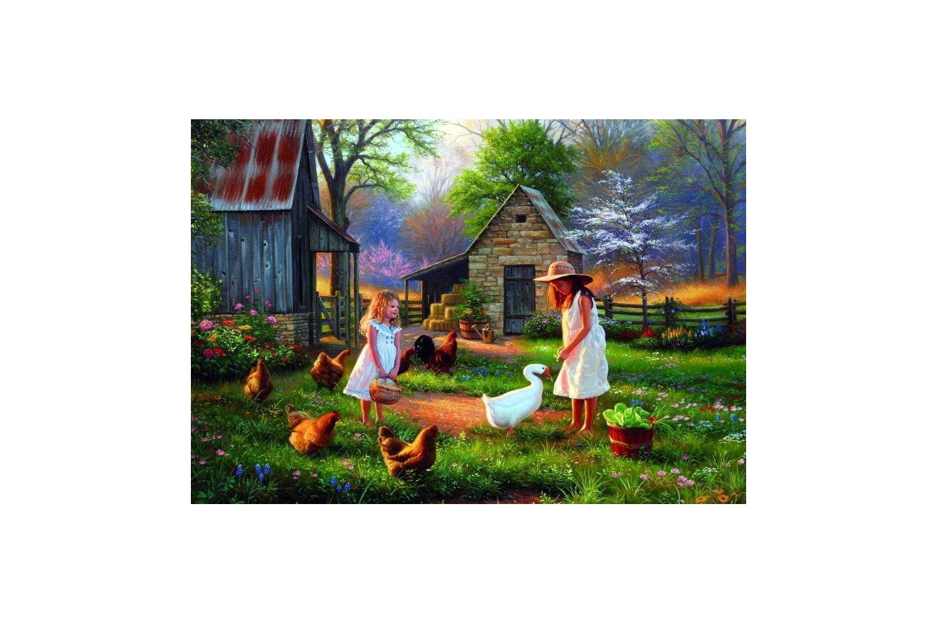 Puzzle Anatolian - Evening at Granma's, 500 piese (3515)