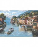 Puzzle Anatolian - Village On The Water, 500 piese (3535)