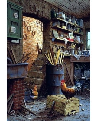 Puzzle Anatolian - The Workshop, 500 piese (3553)