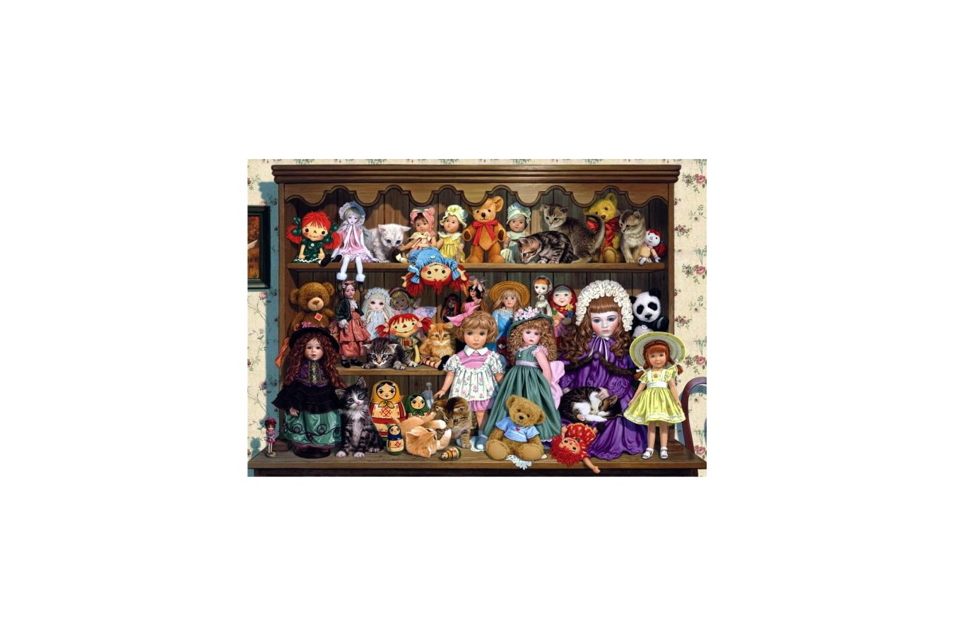 Puzzle Anatolian - Grandma's Dresser, 500 piese (3572)