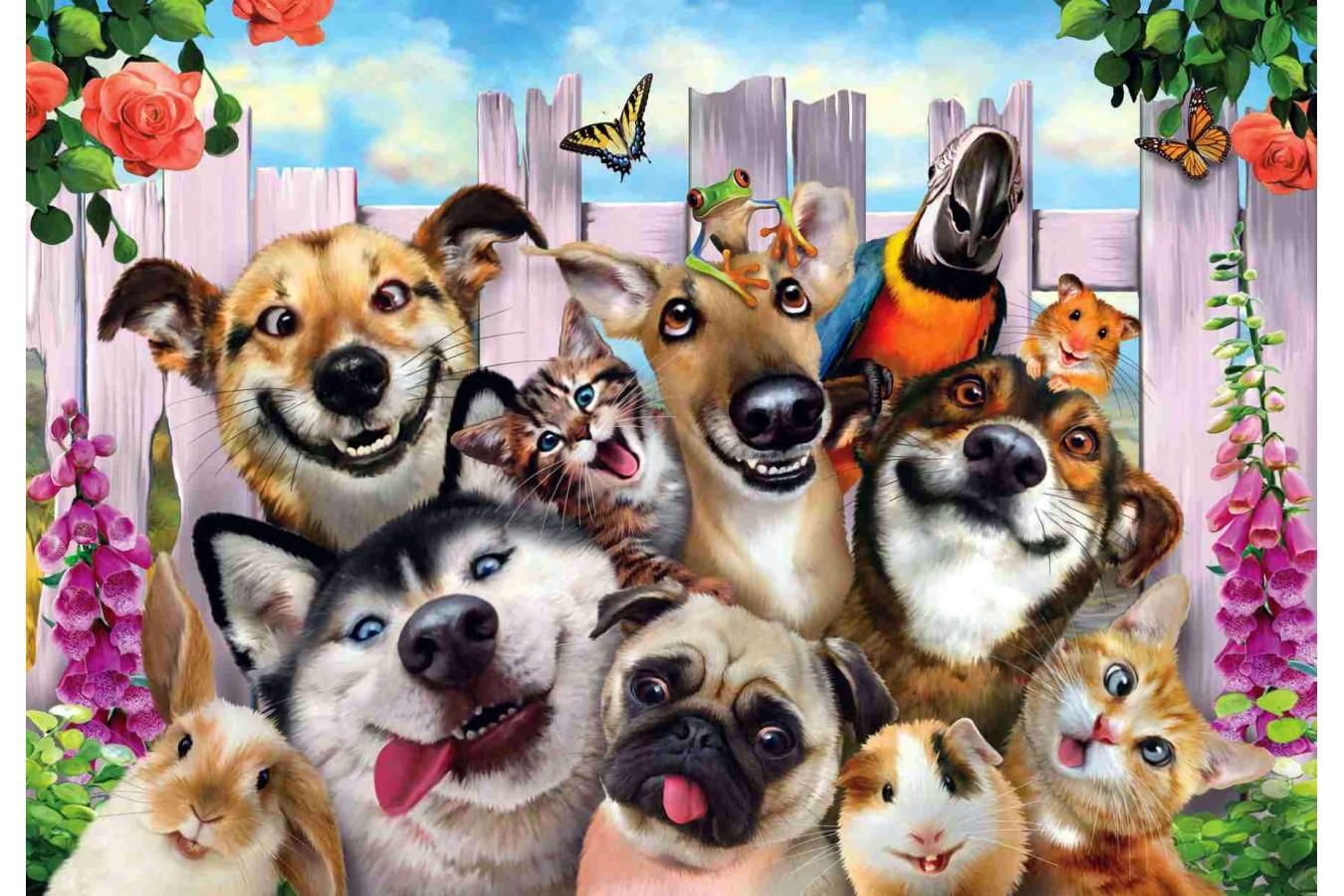 Puzzle Anatolian - Pet Selfie, 500 piese (3584)