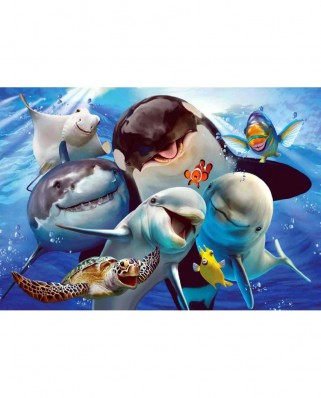 Puzzle Anatolian - Ocean Selfie, 500 piese (3585)