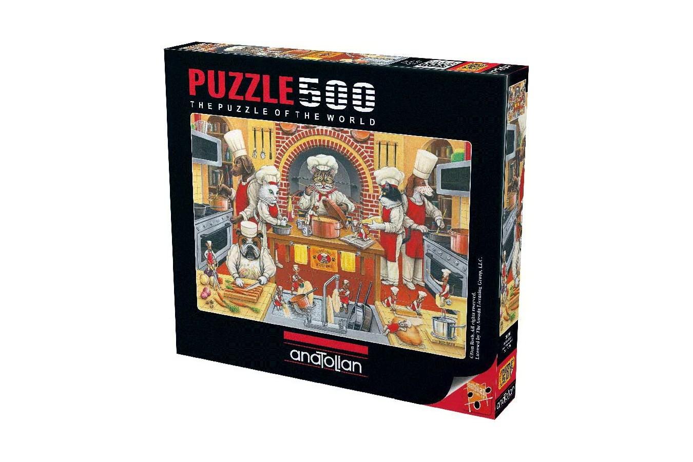 Puzzle Anatolian - Kool Kat Kuisine, 500 piese (3586)