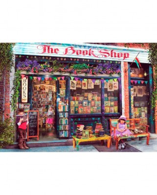 Puzzle Anatolian - The Bookshop Kids, 500 piese (3588)