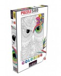 Puzzle de colorat Anatolian - Night Owls, 500 piese (3594)