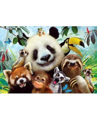 Puzzle Anatolian - Zoo Selfie, 500 piese (3596)