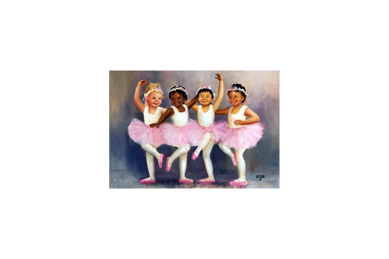 Puzzle Anatolian - Little Ballerinas, 500 piese (3598)